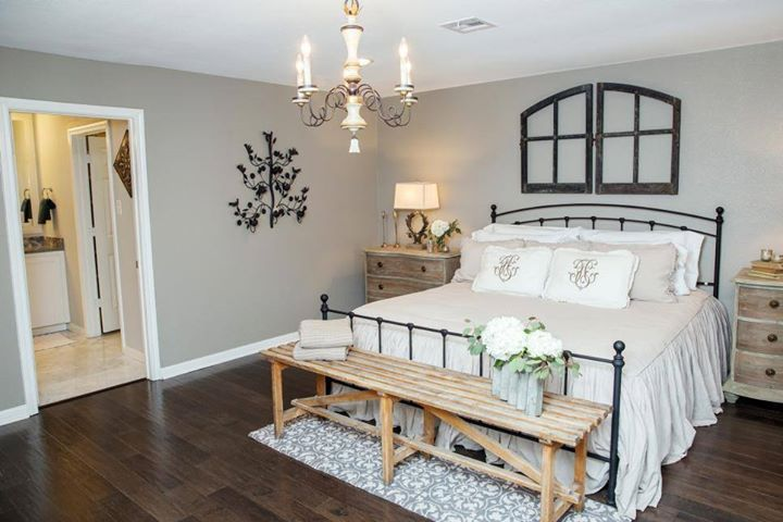 Love The Window Frame Above The Bed And Bed Frame Itself With