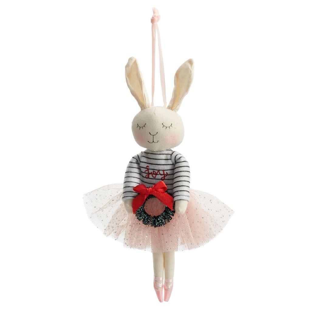 LC Lauren Conrad Bunny Ballerina Ornament