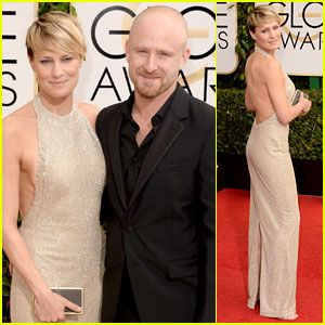 Golden Globes red carpet images 2014 | Ben Foster & Robin Wright – Golden Globes 2014 Red Carpet | 2014 ...
