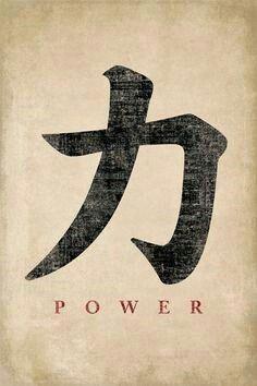 El Poder Letras Chinas Simbolos De Tatuaje Japoneses Tatuajes