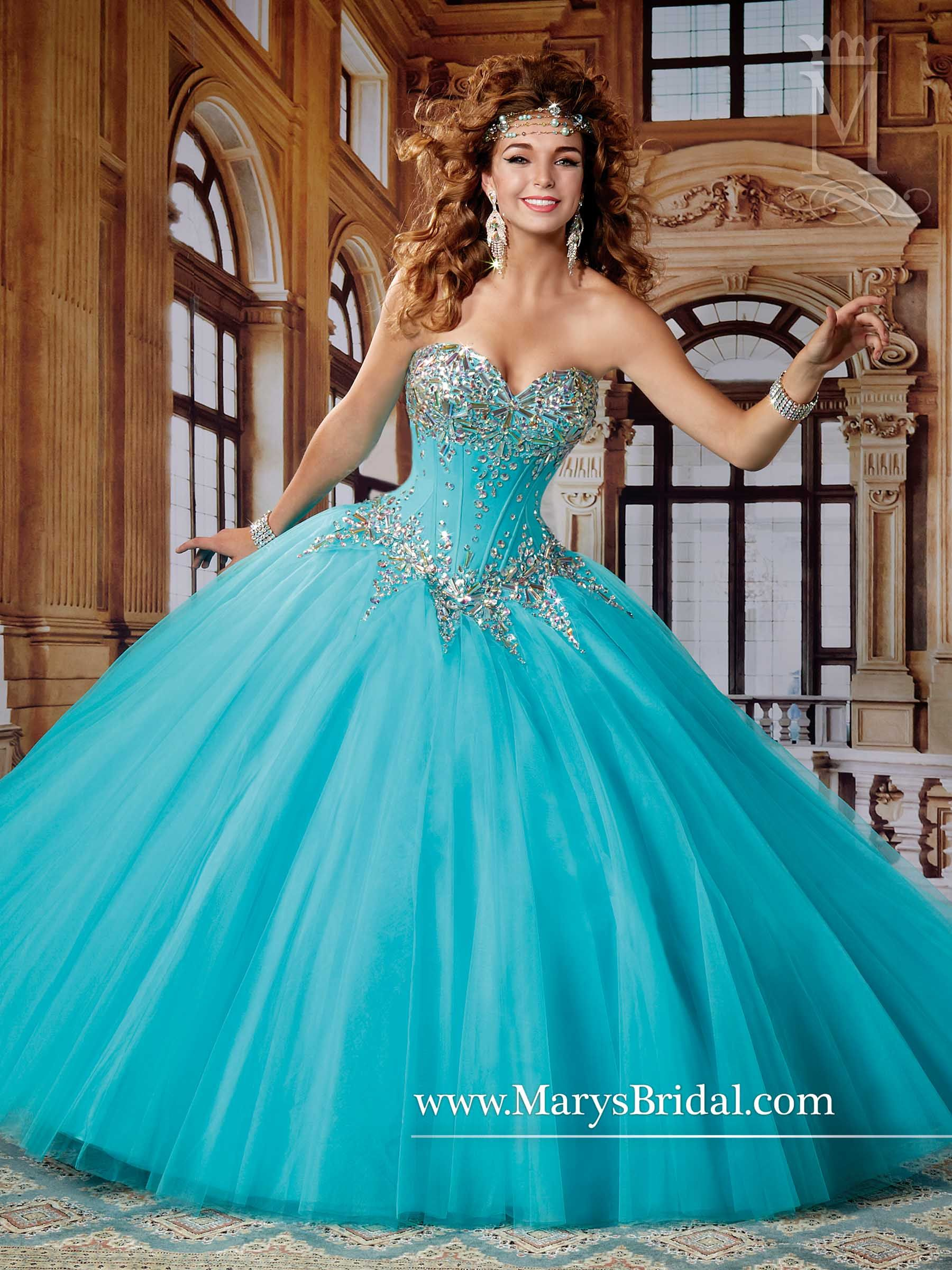 Style 4496 Beloving by Mary\'s | Quinceanera Winter Wonderland ...