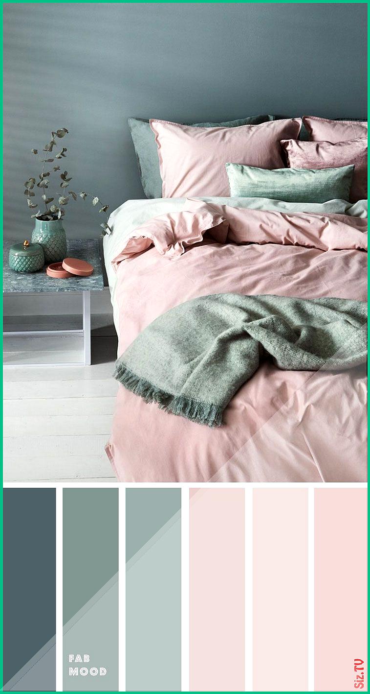 Green Sage and Mauve Pink Bedroom Color Palette Green Sage ...