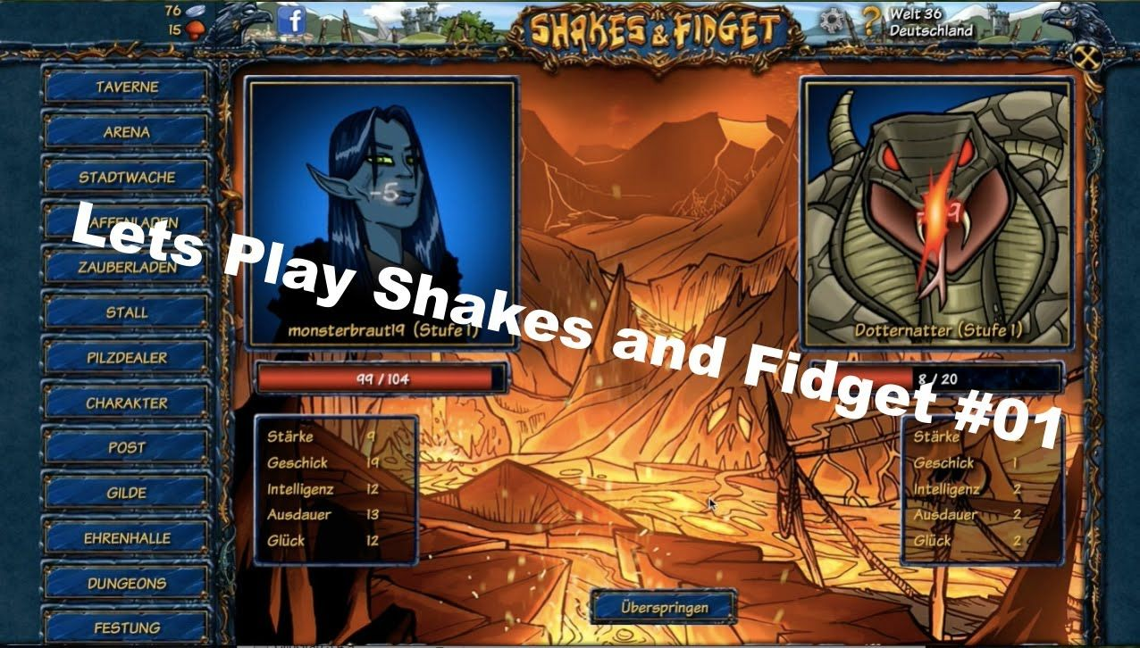 Shakes and fidget festung guide