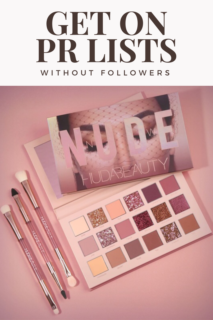 How To Get Pr Packages Without Followers How To Get Eyeshadow Packaging