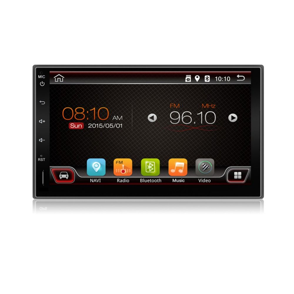 """2din Universal Touch Screen 7"""" Android 6.0 NO Car DVD"""