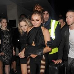 Little Mix pop group enjoy night out at Drama Nightclub