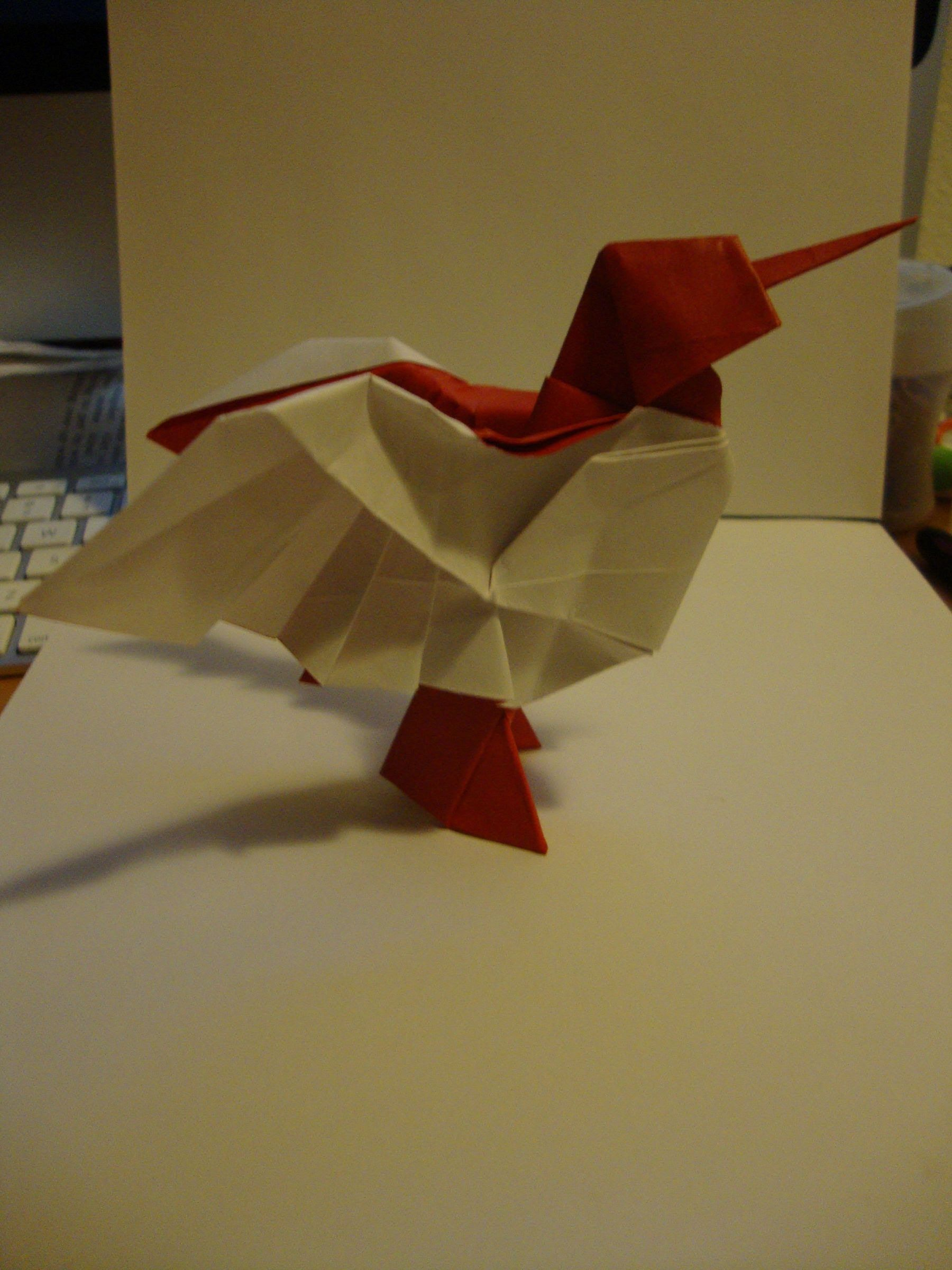How to: Origami Hummingbird by Jesse Barr | DIY & Crafts ... - photo#20