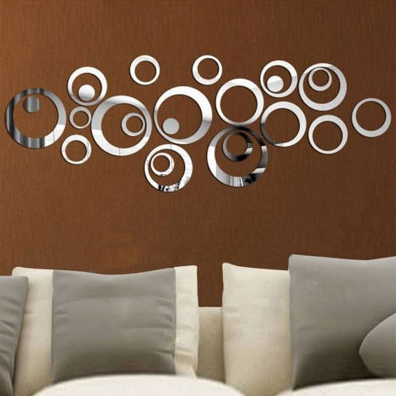 Direct Selling New Arrival D Sticker Modern Acrylic Red And - Wall decals 2016