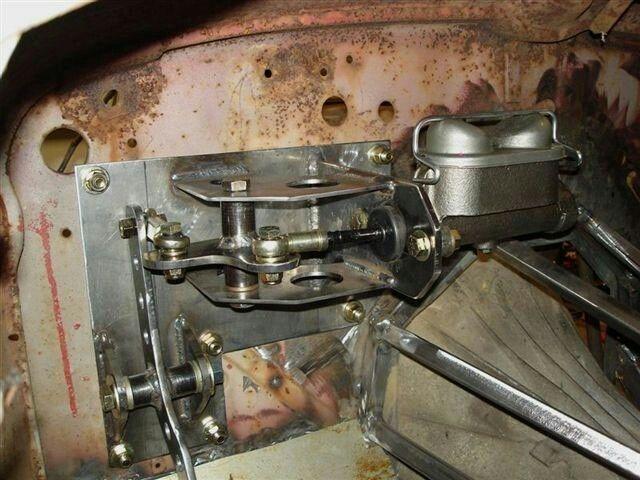 Bell Crank Brake System Hotrods Rat Rods Gassers