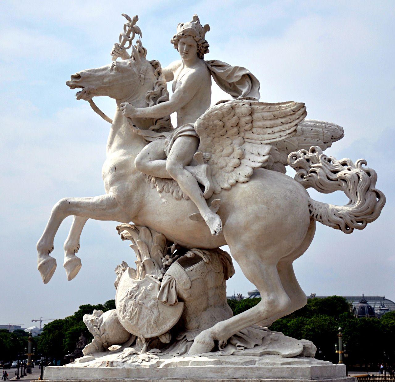 An old sculpture