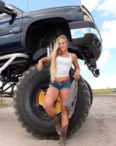 lifted trucks and naked girls