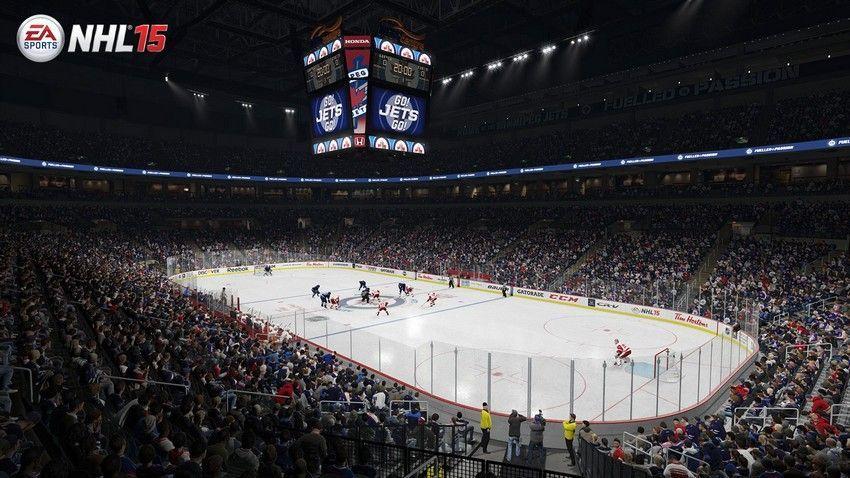 NHL 15 - MTS Centre  Home Ice: Winnipeg Jets Location: Winnipeg, Manitoba Opened: November 16, 2004