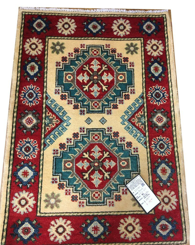 21040 Kazak Hand Knotted Handmade Afghan Rug Carpet Tribal Nomadic Authentic In 2020 Rugs On Carpet Afghan Rugs Rugs