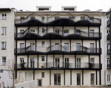 hild und k architekten project wohnhaus reichenbachstra e munich germany 2011. Black Bedroom Furniture Sets. Home Design Ideas