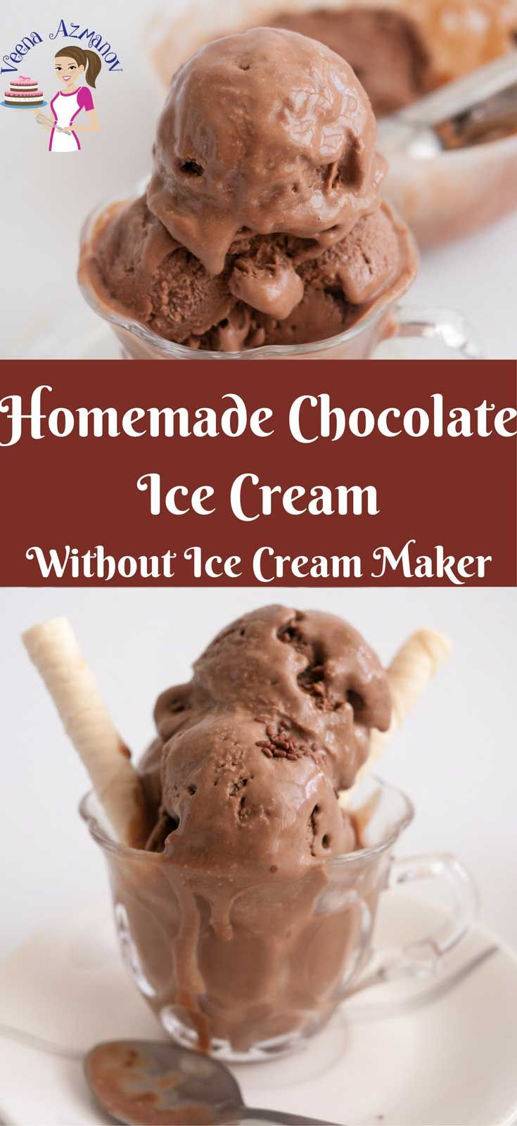 Homemade Chocolate Ice Cream No Churn This Homemade Chocolate Ice Cream Is A Re Chocolate Ice Cream Recipe Homemade Chocolate Ice Cream Chocolate Ice Cream