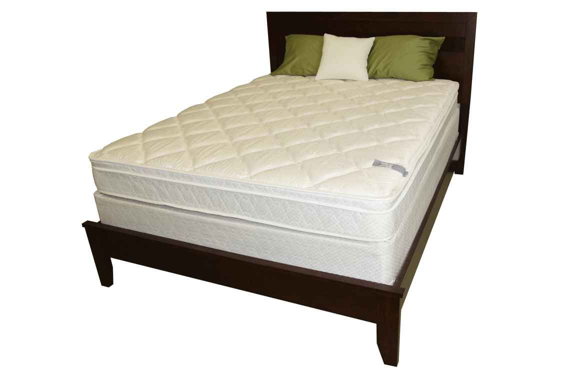 the princess dream plush pillowtop mattress set provides superior