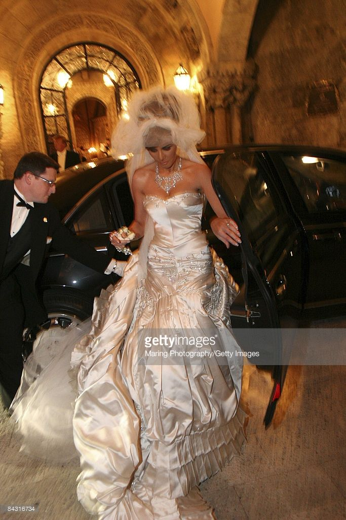 Melania In John Galliano Wedding Dress Melania Trump Wedding Trump Wedding Dress Trump Wedding