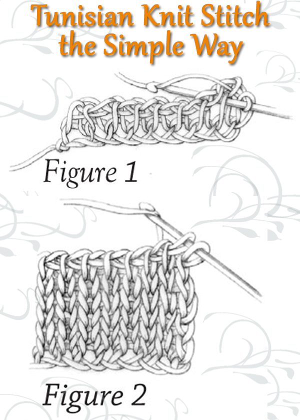 Tunisian Crochet Stitches: Instructions, Examples & More | handmade ...