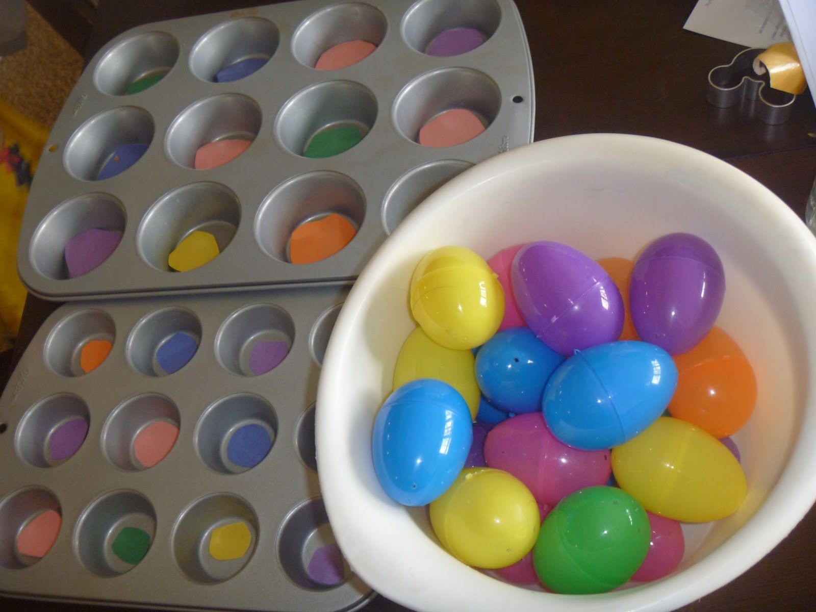 Toddler Activities Easter Egg Color Matching