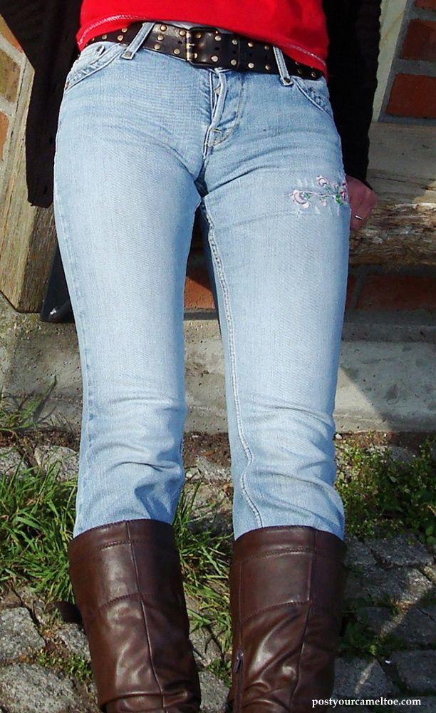 jeans_3~0.jpg (612×1000) | camel toes | Pinterest