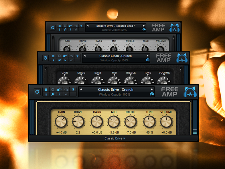 Blue Cat Audio has released Blue Cat's Free Amp, a free