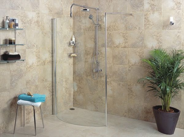 The Bathroom in this shower room designs for small bathrooms looks  captivating without being added with