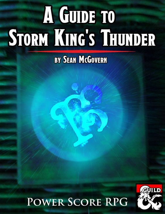 Dungeons Dragons How To Run Storm King S Thunder Storm Kings