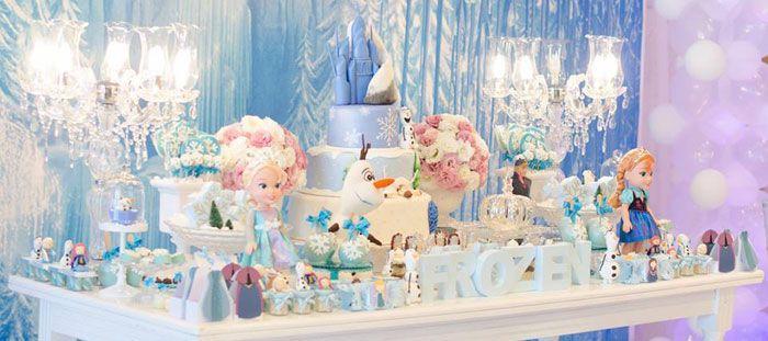 Frozen Themed Birthday Party | Party Ideas | Pinterest | Frozen ...