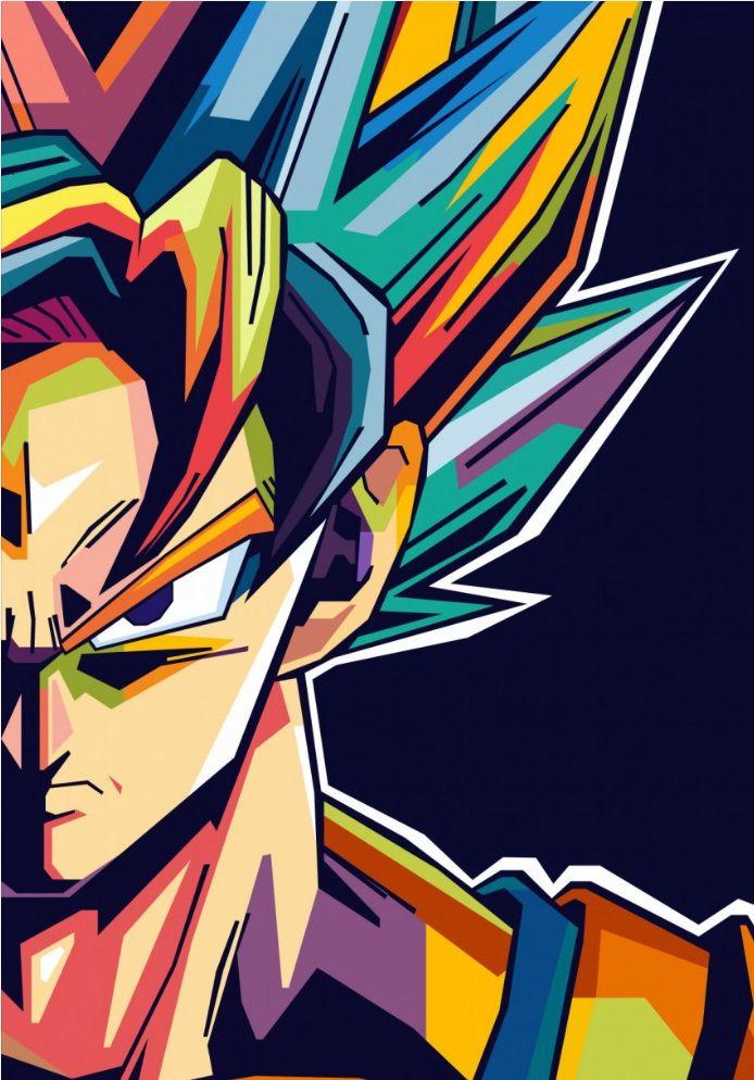 Dragon Ball Super Poster Print on metal – Ardi Arumansah | Displate