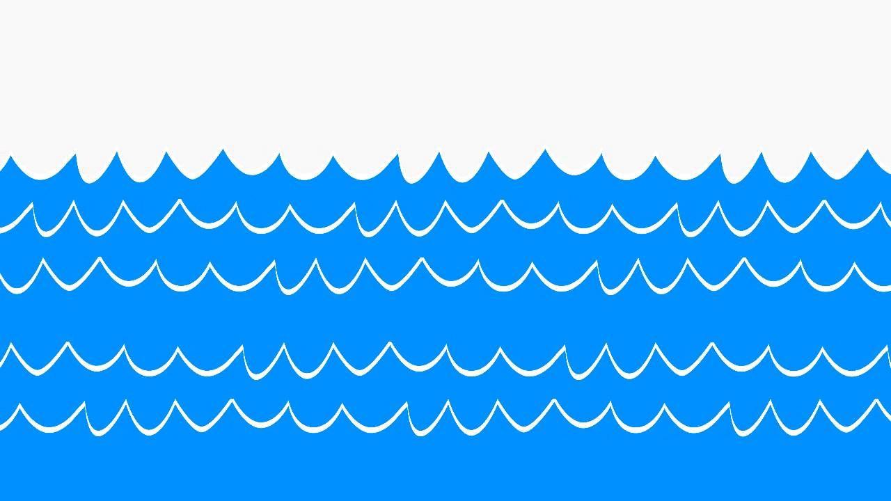 Cartoon Ocean Waves Clipart Clipartfest Wave Clipart Wave Illustration Simple Cartoon