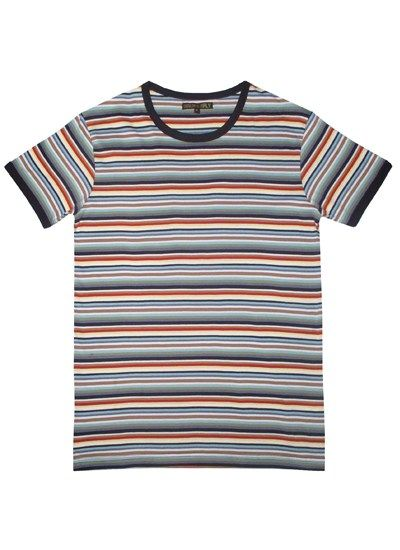 1b21425fda Run & Fly – Multi-Colour Stripe Tee | Style | Color stripes, Striped ...