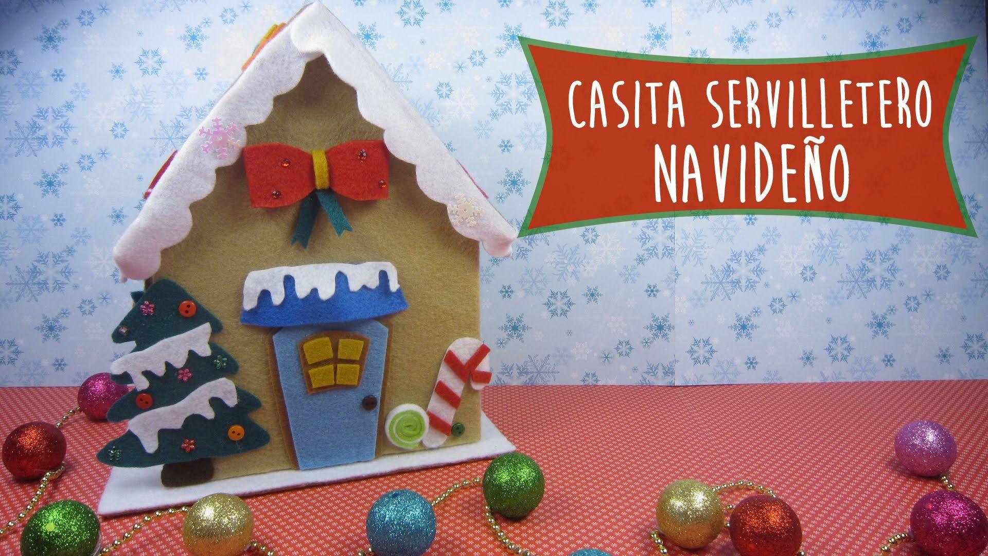 Casita Servilletero Navideño: Ideas para decorar tu mesa en esta ...
