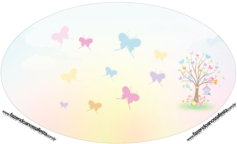 Placa Elipse Jardim das Borboletas | Logo | Butterfly ...