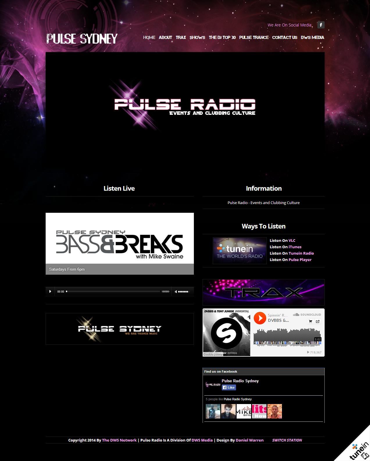 Pulse Radio late 2013 Theme - pulsesydney.com