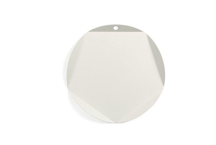 Lafuma Tablett Ancone 34 x cm Weiß Stahl