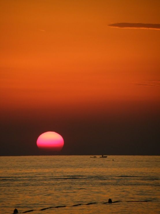 Sunset Croatia Sunset Croatia Beach Landscape