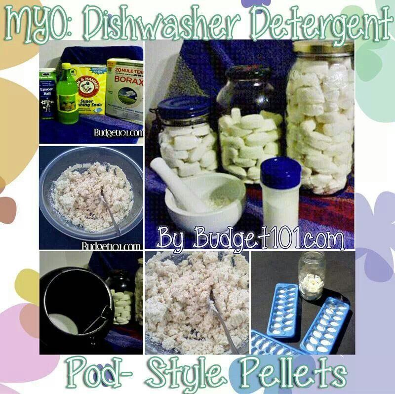 Homemade dishwasher detergent Inspiring Ideas Homemade