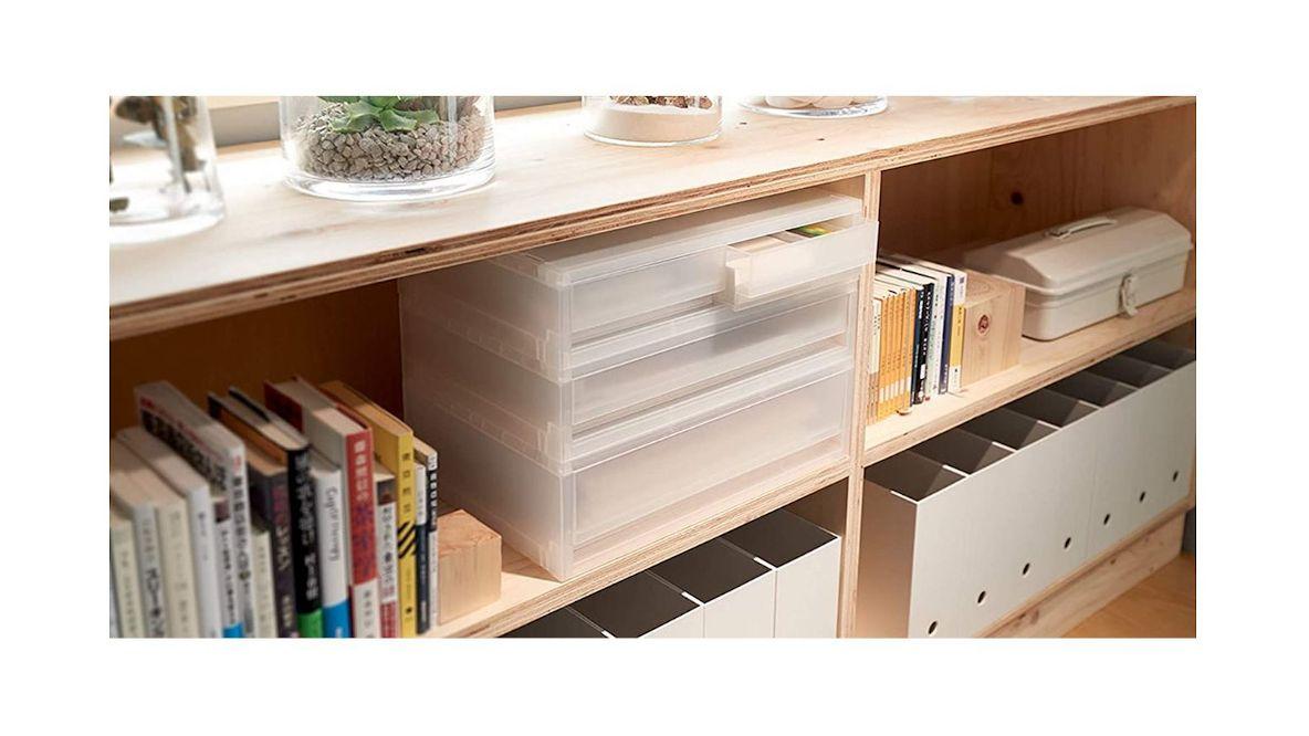 Photo of 無印良品の引き出し収納ボックス4選。サイズが揃ってスッキリ並べて、デッドスペースを有効活用できるよ