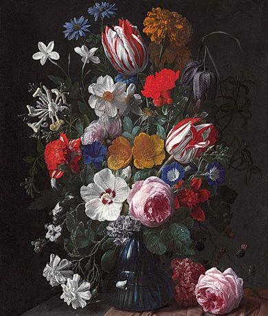 Old Dutch Master Flower Pieces Dutch Masters Flowers Flower Painting Floral Painting