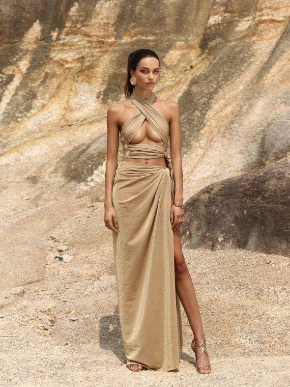 Cleopatra Sand Dress