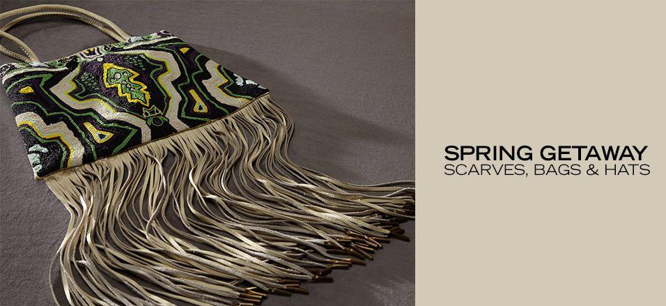 Spring Getaway: Scarves, Bags & Hats