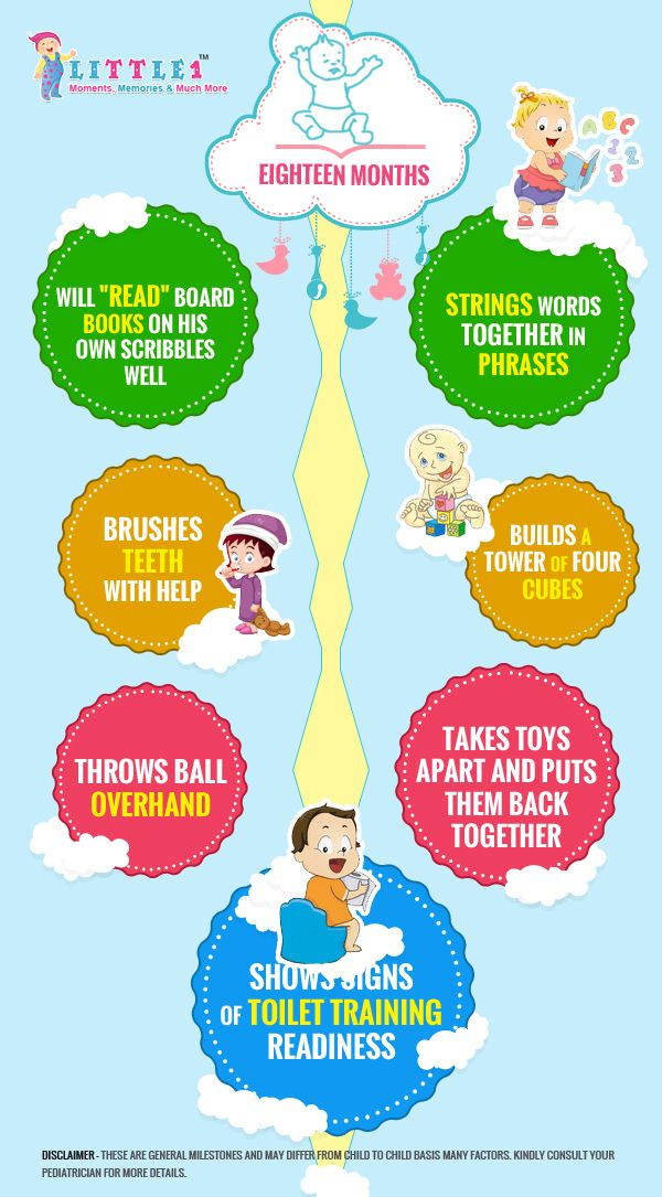 Milestones of 18 months old baby Parenting Pinterest Babies - Baby Development Chart