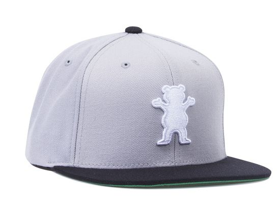 OG Bear Snapback Hat by GRIZZLY  5793bb2613e
