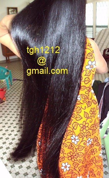 Pin By Tyo Pratiknyo On My Wife S Long Hair Long