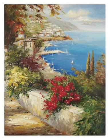 Strada Del Mazzo by Peter Bell Print