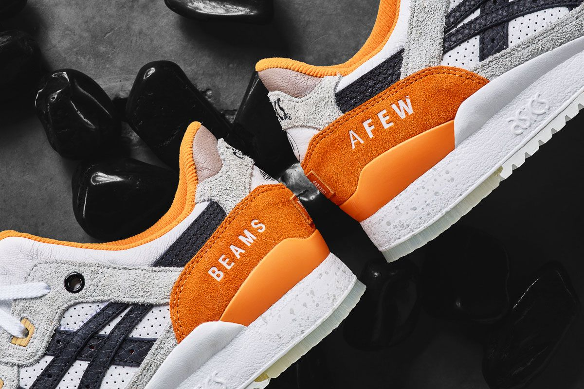 Afew x BEAMS x ASICS Gel Lyte III Orange Koi Release Date - SBD ...