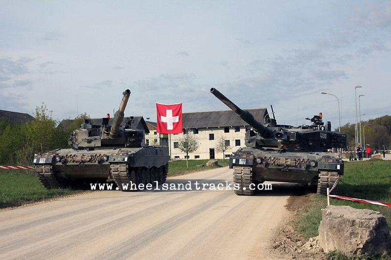Leopard 2A4 WE Pz 87 Bure - Swiss Army.