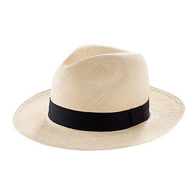 Madewell Panama hat.