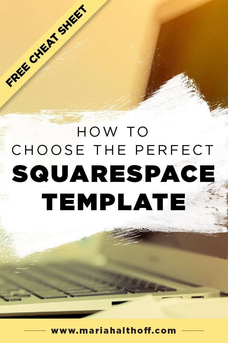 How To Choose The Perfect Squarespace Template Wordpress Website
