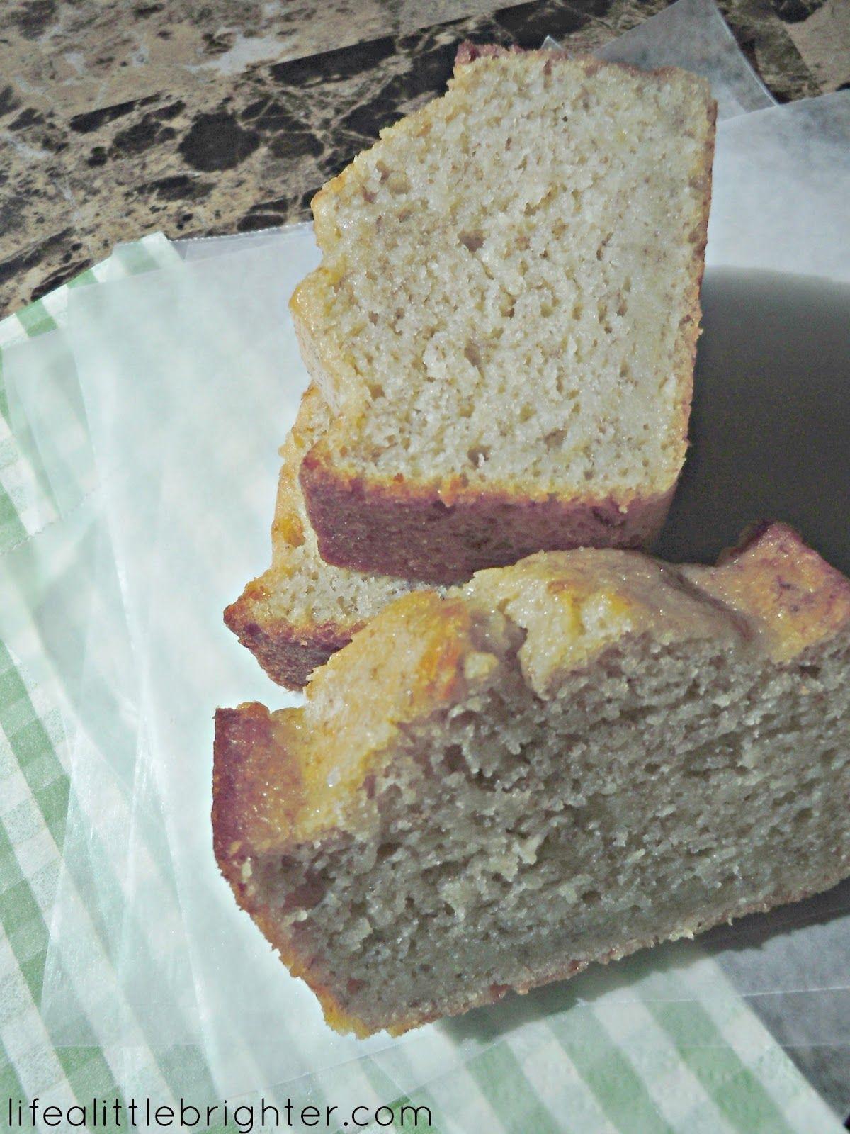 Life a Little Brighter: Sour Cream Banana Bread